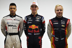 Jann Mardenborough, Team Impul, Pierre Gasly, Team Mugen, Felix Rosenqvist, Team LeMans