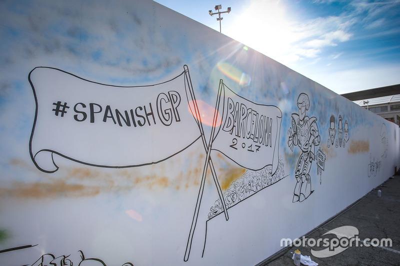 Gran Premio de España: una caricatura sobre Vettel