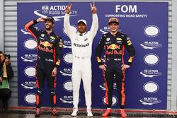 Володарь поулу Льюіс Хемілтон, Mercedes AMG F1, Макс Ферстаппен, Даніель Ріккардо, Red Bull Racing