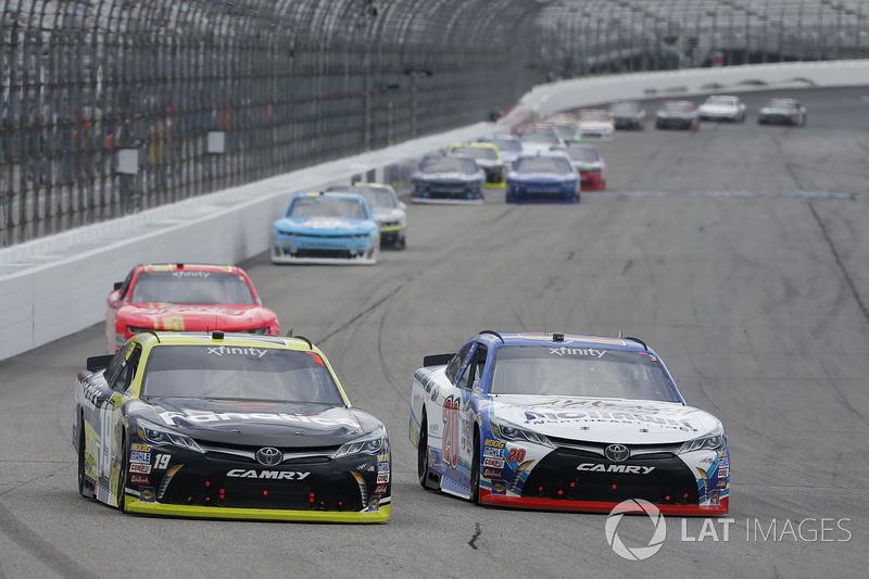Matt Tifft, Joe Gibbs Racing Toyota, Ryan Preece, Joe Gibbs Racing Toyota