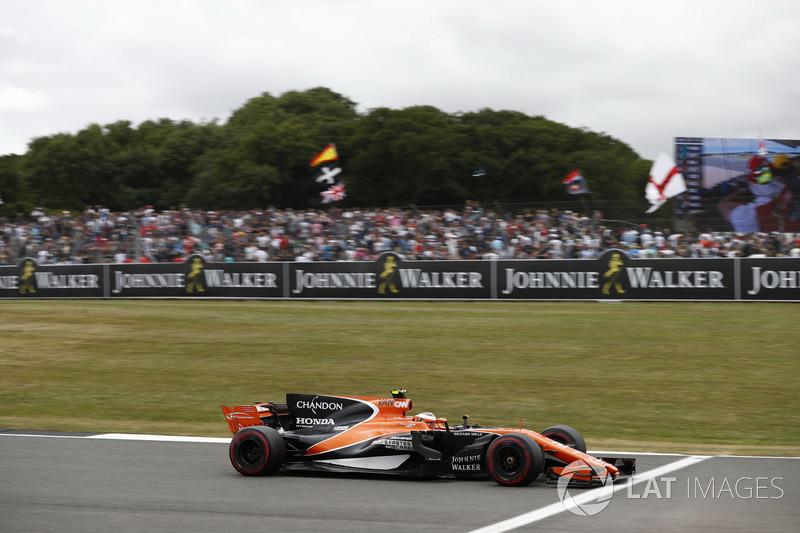 15 місце — Стоффель Вандорн (Бельгія, McLaren) — коефіцієнт 1001,00