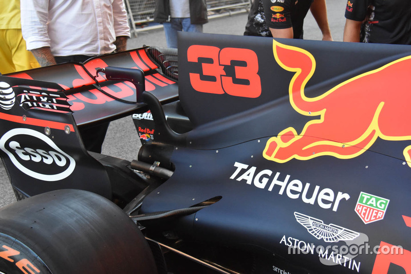 Red Bull Racing RB13, detail