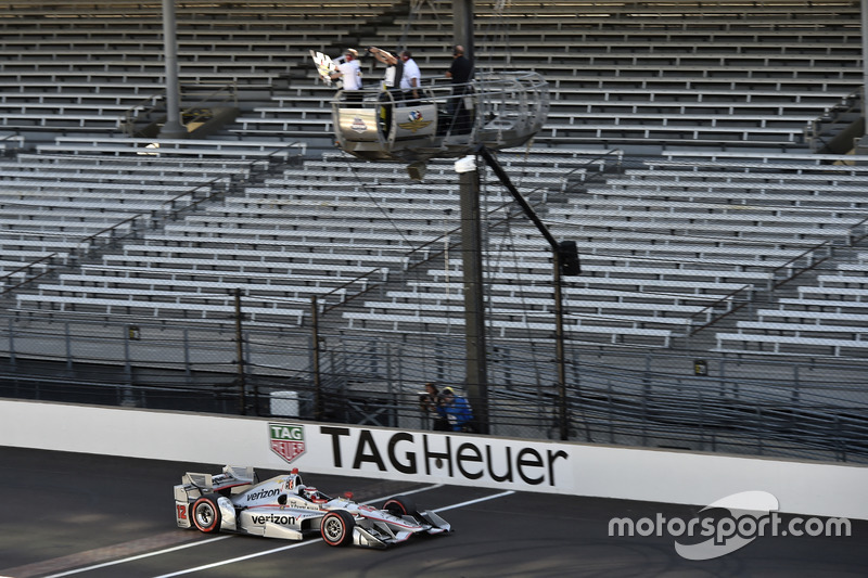 Will Power, Team Penske Chevrolet toma la victoria