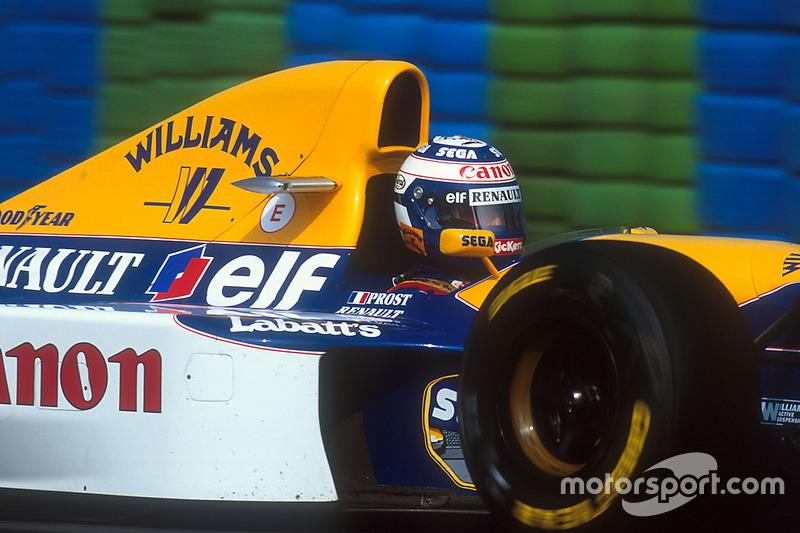 Alain Prost, Williams