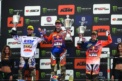 Podio: Jeffrey Herlings, Jorge Prado, KTM Factory Racing