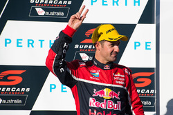 Podium: third place Jamie Whincup, Triple Eight Race Engineering Holden