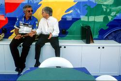 Bernie Ecclestone, Flavio Briatore, Benetton