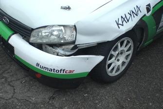 Бойові шрами Калини Кирила Ярмоли після гонки
