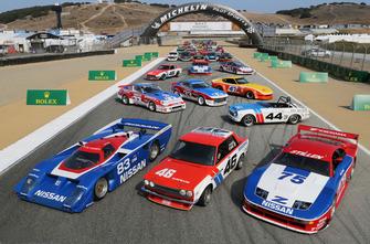 Foto del grupo de corredores clásicos de Nissan