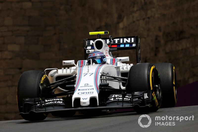 Williams FW38 Валттери Боттаса