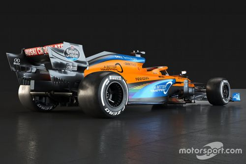 Радужная ливрея McLaren