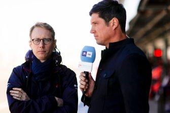 Sylvain Filippi, Managing Director & CTO, Virgin Racing, is interviewed by Vernon Kay