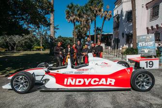 Simon Pagenaud, Las Coronelas, Brent Barry - IndyCar, San Antonio