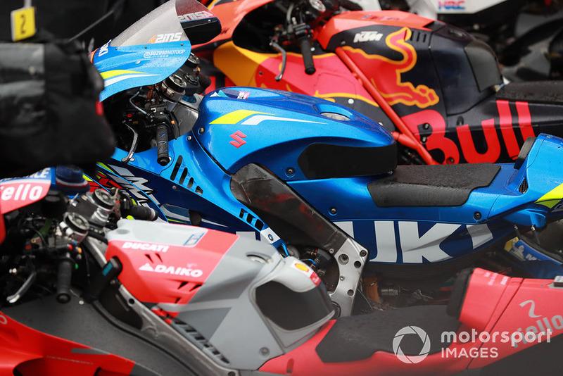 Мотоцикли Red Bull KTM Factory Racing, Team Suzuki MotoGP, Ducati Team
