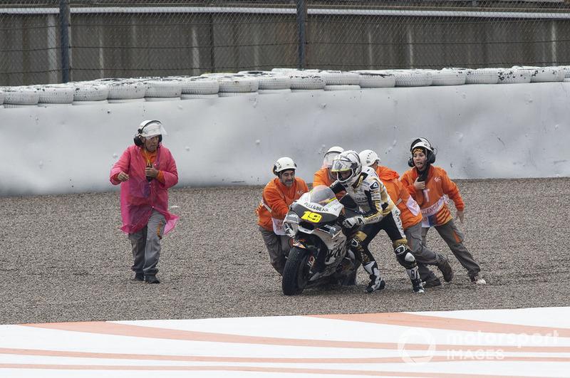 Alvaro Bautista, Angel Nieto Team, setelah terjatuh