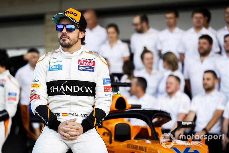Fernando Alonso, McLaren, and the McLaren team