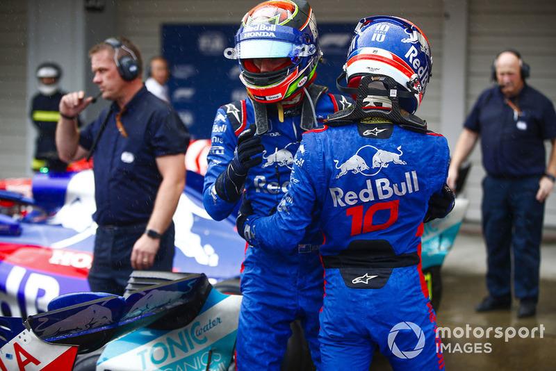 Gasly y Hartley le dieron ocho Q3 a Toro Rosso
