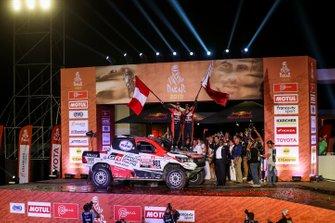 Podio: Toyota Gazoo Racing Toyota Hilux: Nasser Al-Attiyah, Matthieu Baumel