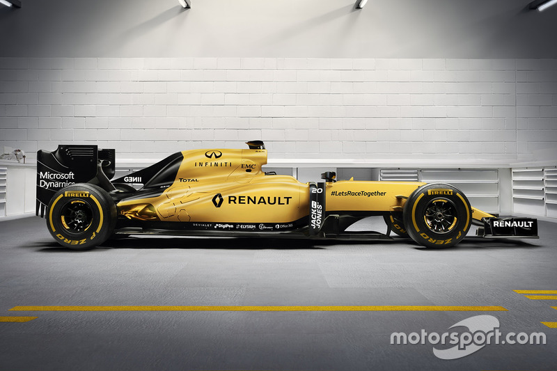 Decoración Renault F1 Team 2016