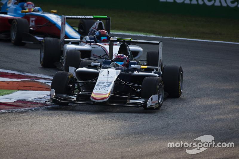 Steijn Schothorst, Campos Racing precede Ralph Boschung, Koiranen GP
