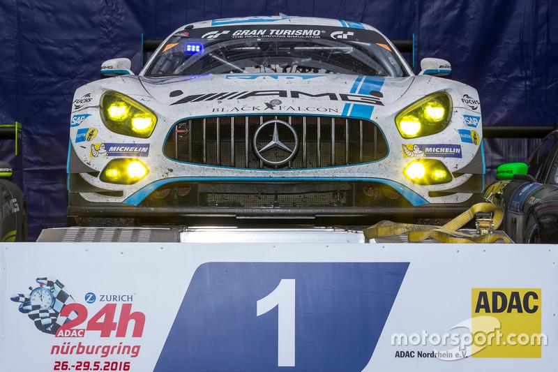 2016: Bernd Schneider, Maro Engel, Adam Christodoulou, Manuel Metzger (Mercedes-AMG GT3)