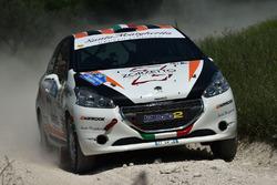 Beatrice Calvi, Cristina Caldart, Peugeot 208 R R2B, Scuderia Palladio