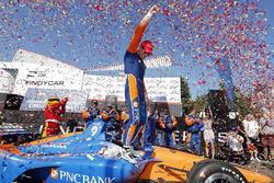 Winnaar Scott Dixon, Chip Ganassi Racing Honda