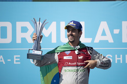 Il 2° classificato Lucas di Grassi, Audi Sport ABT Schaeffler