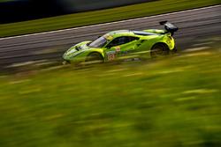 #83 Krohn Racing Ferrari F488 GTE: Tracy Krohn, Nic Jonsson, Andrea Bertolini