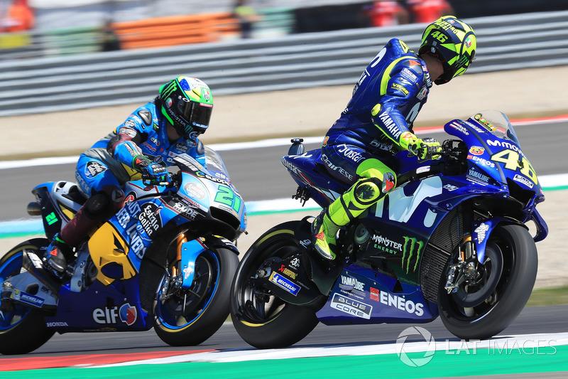 Valentino Rossi, Yamaha Factory Racing, Franco Morbidelli, Estrella Galicia 0,0 Marc VDS
