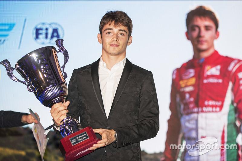 Формула 2: Шарль Леклер (Монако)