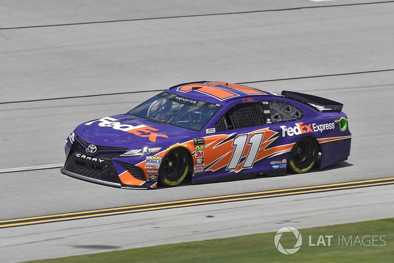 4. Denny Hamlin, Joe Gibbs Racing, Toyota Camry FedEx Express