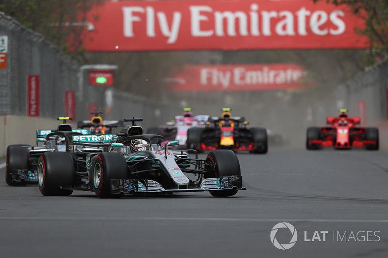 Lewis Hamilton, Mercedes-AMG F1 W09 EQ Power Lap 1