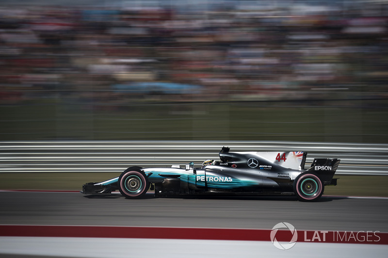 2017: Lewis Hamilton, Mercedes F1 W08 EQ Power+
