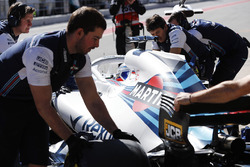 Sergey Sirotkin, Williams Racing, pose pour une photo