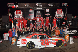 Christopher Bell, Joe Gibbs Racing, Toyota Camry Rheem wins
