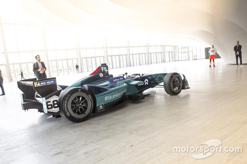 NIO Formula E Team expuesto en Roma