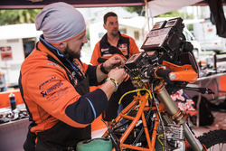 Red Bull KTM Factory Racing dans le bivouac