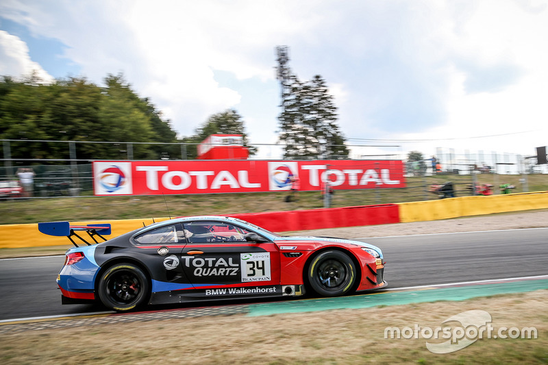#34 Walkenhorst Motorsport BMW M6 GT3: Tom Blomqvist, Christian Krognes, Philipp Eng