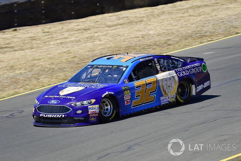 30. Matt DiBenedetto, Go FAS Racing, Ford Fusion