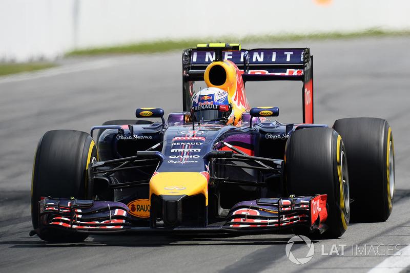 18º Daniel Ricciardo - 15 carreras - De Bahrein 2014 a Estados Unidos 2014 - Red Bull