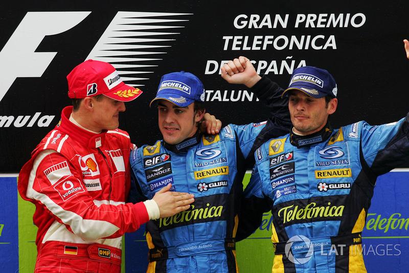 GP da Espanha 2006 – A primeira vitória de Fernando em casa foi sua consagração. À frente de 131 mil espanhóis, ele dominou a corrida praticamente de ponta a ponta.