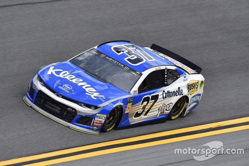 Chris Buescher, JTG Daugherty Racing, Kleenex Chevrolet Camaro