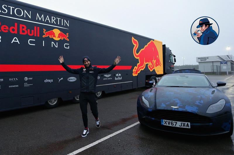 Autó Az F1 jelenleg legmenőbb cégautóját kapta Daniel Ricciardo