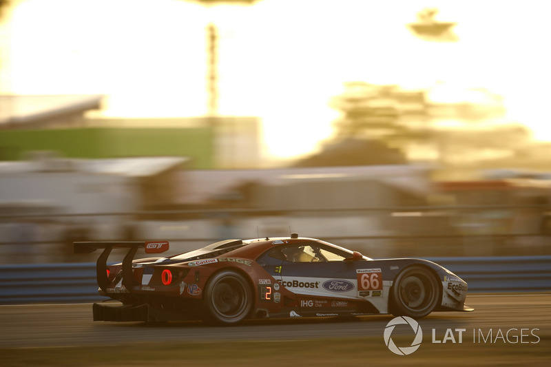 #66 Ford Performance Chip Ganassi Racing Ford GT: Джоі Хенд, Дірк Мюллер, Себастьян Бурде