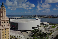 Miami: Freedom Tower, American Airlines Arena und Biscayne Bay