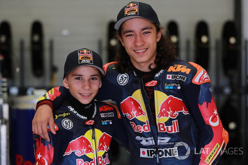Deniz Öncü e Can Öncü, Red Bull KTM Ajo