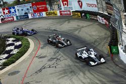 Max Chilton, Carlin Chevrolet Zach Veach, Andretti Autosport Honda Spencer Pigot, Ed Carpenter Racing Chevrolet