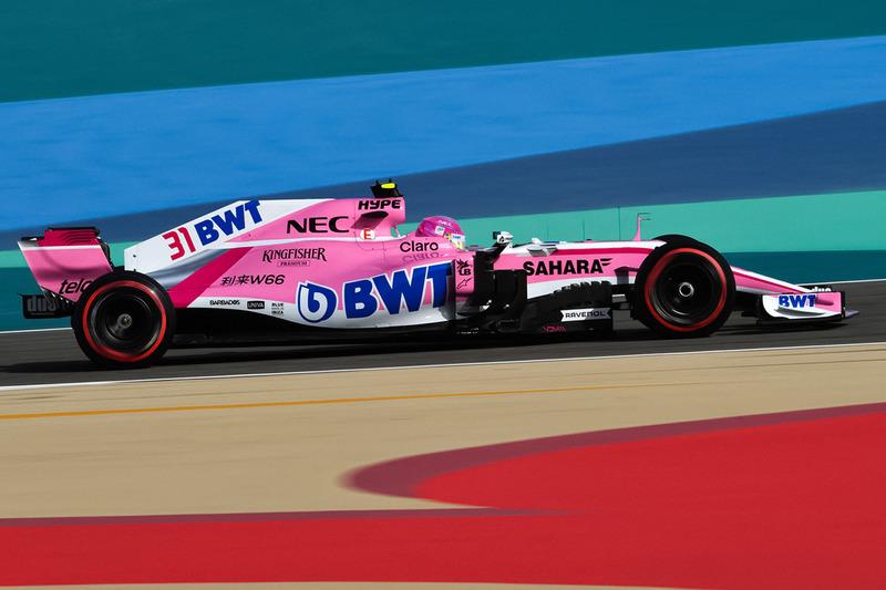 El Force India VJM11 imaginado sin el Halo