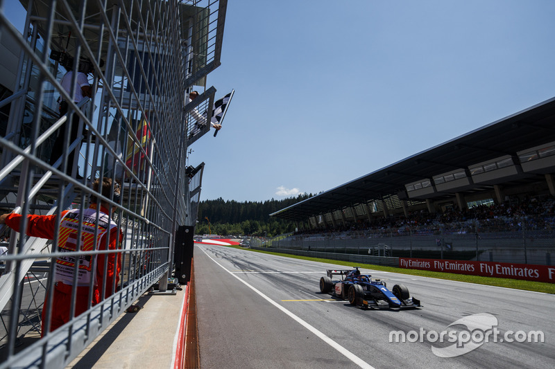 Artem Markelov, RUSSIAN TIME takes the win